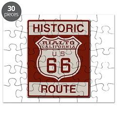 Rialto Route 66 Puzzle