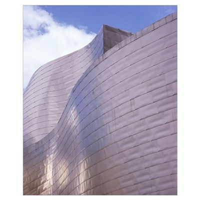 Guggenheim museum, Bilbao, Spain Poster