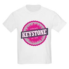Keystone Ski Resort Colorado Pink T-Shirt