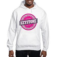 Keystone Ski Resort Colorado Pink Hoodie