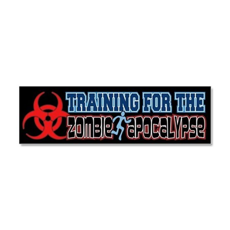 Training for the Zombie Apocalypse Running Car Mag