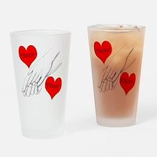Custom Romance Drinking Glass