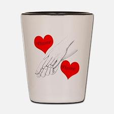 Custom Romance Shot Glass