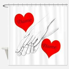 Custom Romance Shower Curtain