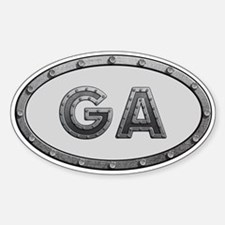GA Metal Decal