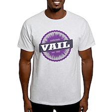 Vail Ski Resort Colorado Purple T-Shirt