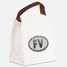 FV Metal Canvas Lunch Bag