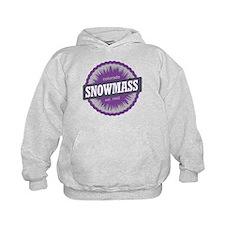 Snowmass Ski Resort Colorado Purple Hoodie