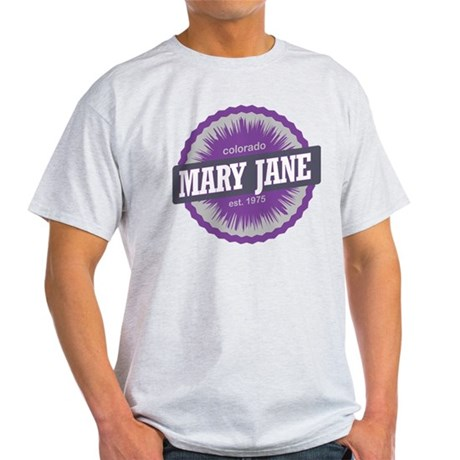 Mary Jane Ski Resort Colorado Purple Light T-Shirt