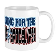 Training for the Zombie Apocalypse Running Mug