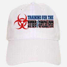 Training for the Zombie Apocalypse Running Baseball Baseball Cap