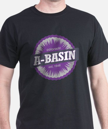 Arapahoe Basin Ski Resort Colorado Purple T-Shirt