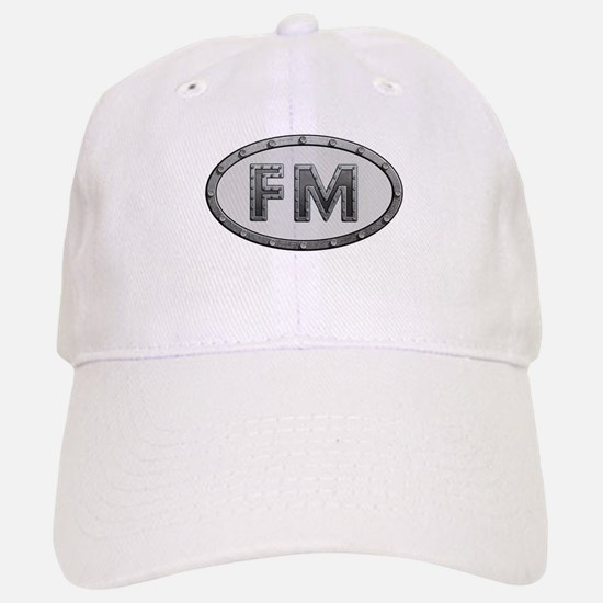 FM Metal Baseball Baseball Cap