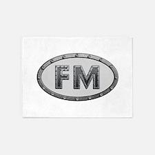 FM Metal 5'x7'Area Rug