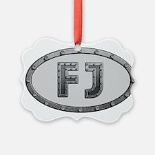 FJ Metal Ornament