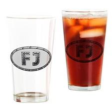 FJ Metal Drinking Glass