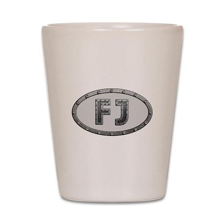 FJ Metal Shot Glass