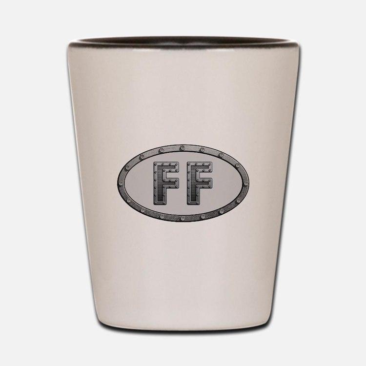 FF Metal Shot Glass