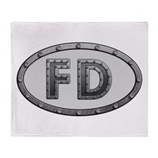 FD Metal Throw Blanket
