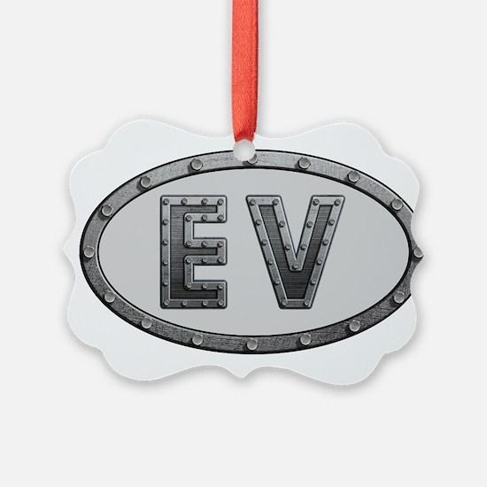 EV Metal Ornament