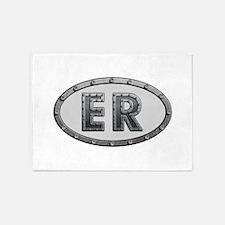 ER Metal 5'x7'Area Rug
