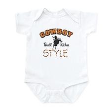 Cowboy Style Infant Bodysuit