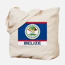 Belize Flag Merchandise Tote Bag