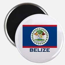 Belize Flag Merchandise Magnet