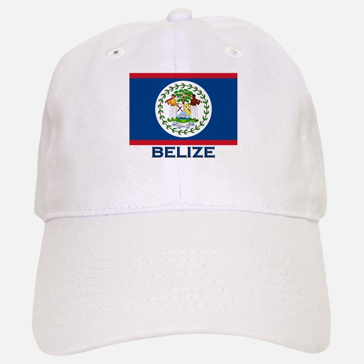 Belize Flag Merchandise Baseball Baseball Cap