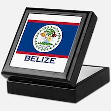 Belize Flag Merchandise Keepsake Box