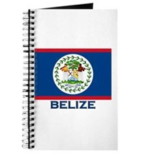 Belize Flag Merchandise Journal