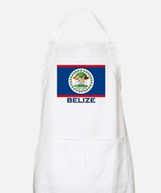 Belize Flag Merchandise BBQ Apron