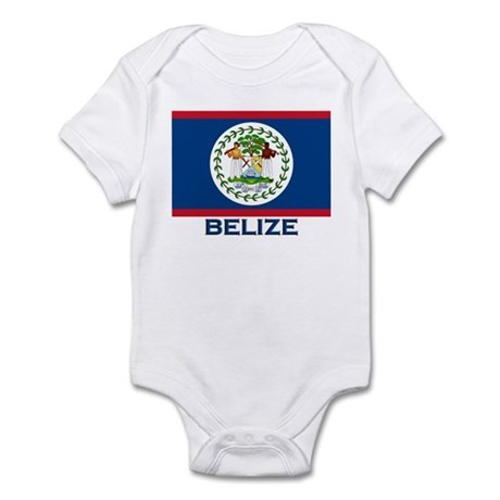 Belize Flag Merchandise Infant Bodysuit