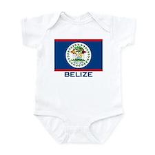 Belize Flag Merchandise Infant Bodysuit
