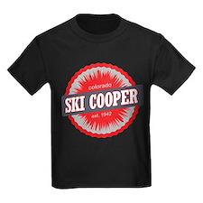 Ski Cooper Ski Resort Colorado Red T