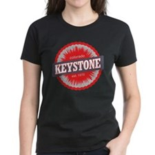 Keystone Ski Resort Colorado Red Tee