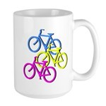 Bicycles | Large Mug