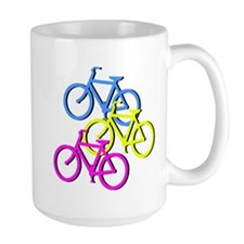 Bicycles   Mug