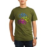 Bicycles | Organic Men's T-Shirt (dark)