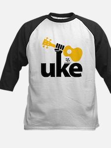 Uke Fist Kids Baseball Jersey