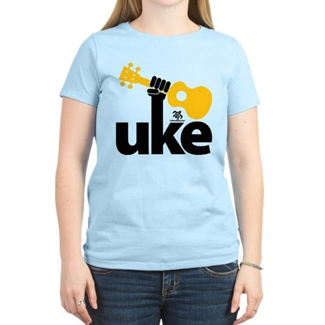 Uke Fist Women's Light T-Shirt