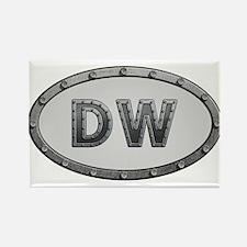 DW Metal Rectangle Magnet