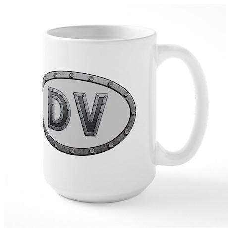 DV Metal Large Mug