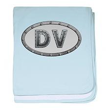 DV Metal baby blanket