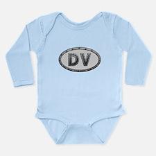 DV Metal Long Sleeve Infant Bodysuit