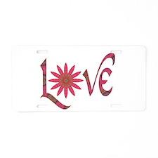Love - Affection simple Aluminum License Plate