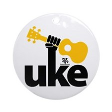 Uke Fist Ornament (Round)