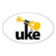 Uke Fist Decal