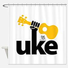 Uke Fist Shower Curtain