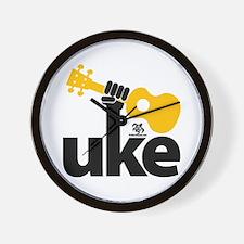 Uke Fist Wall Clock